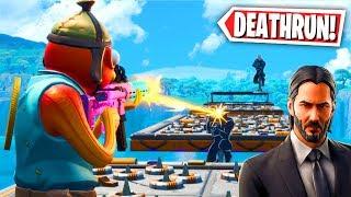 The Official JOHN WICK Deathrun Map! (Fortnite Creative Mode)