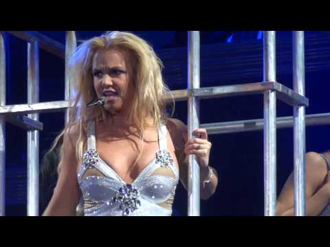 Britney Spears - The Femme Fatale tour live in Antwerp, Belgium (Sportpaleis) HD