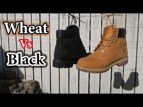 Wheat vs. Black Timberlands | Comparison + On-feet Looks