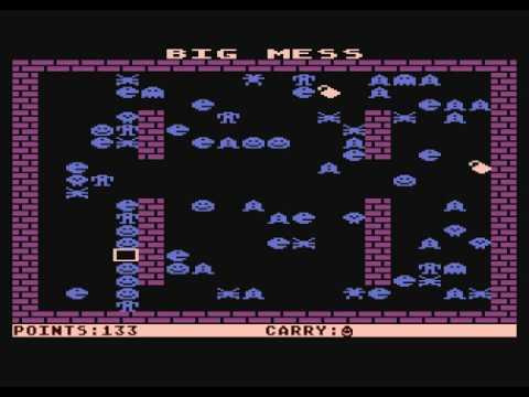 Big Mess - game for Atari computers XL/XE series