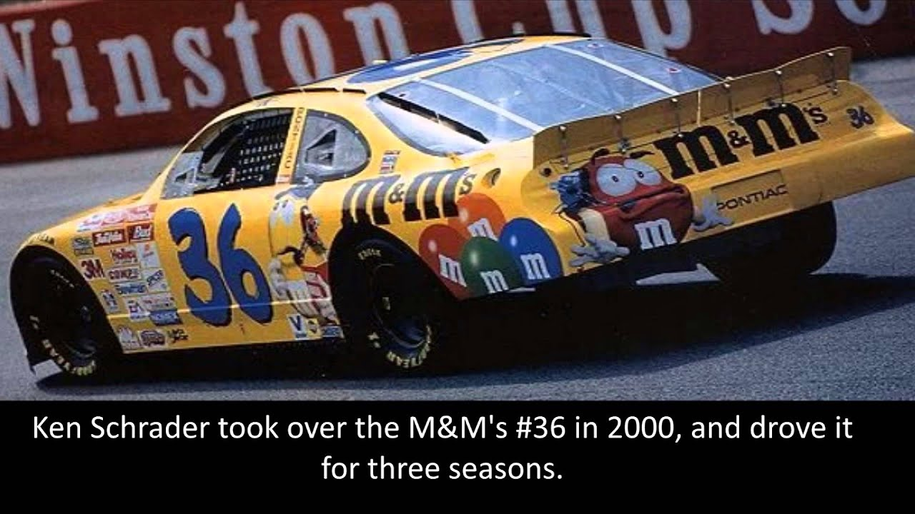 History of NASCAR\'s M&M\'s car - YouTube