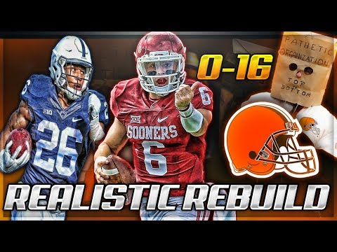 Rebuilding The 0-16 Cleveland Browns *My Greatest Rebuild EVER* | Madden 18 Franchise