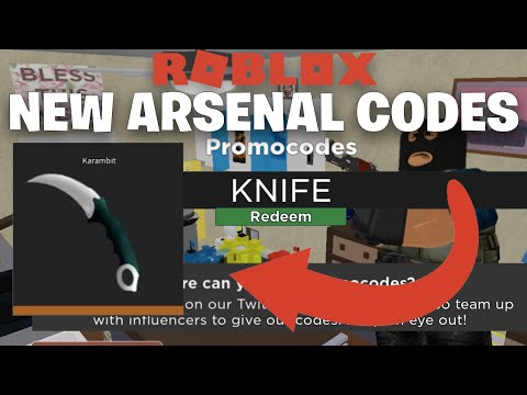 ROBLOX ARSENAL CODES 2020