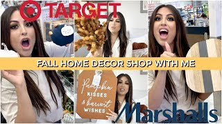 FALL 2019 Target DOLLAR SPOT Home DECOR + Marshalls: SHOP With Me & DECORATE