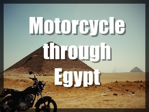 Motorcycle through Egypt (dags VS Egypt)