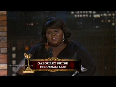 25th Spirit Awards- Gabourey Sidibe wins Best Female Lead