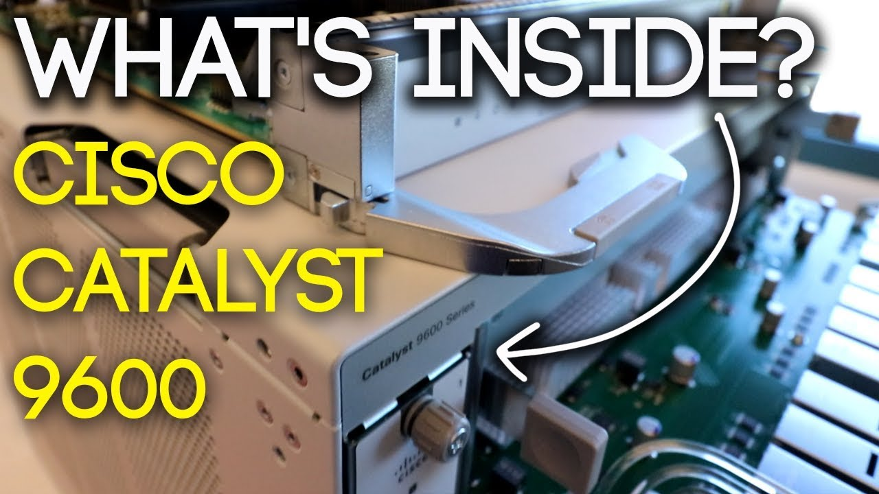 MASSIVE SWITCH! - What's Inside the Cisco Catalyst 9600?