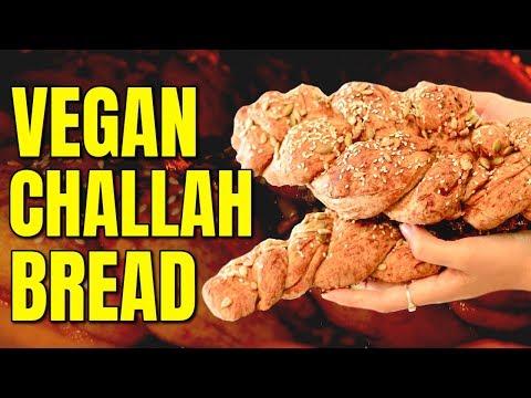 The Best Challah Bread / Easy Vegan Bread Recipe