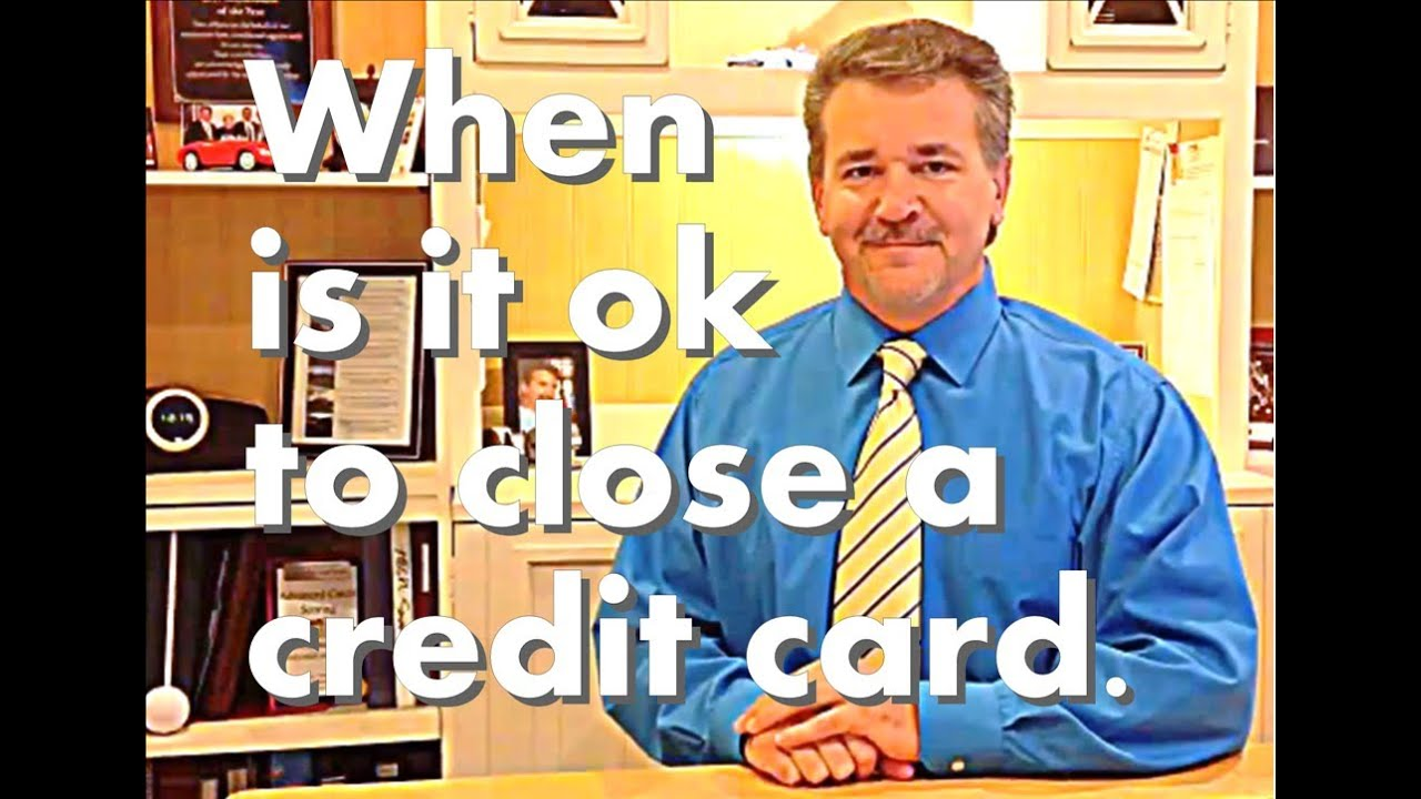 how to close a credit card account