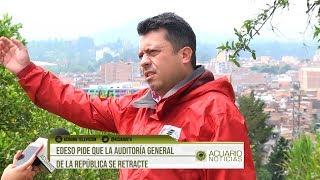 Edeso pide que la Auditoría General de la República se retracte