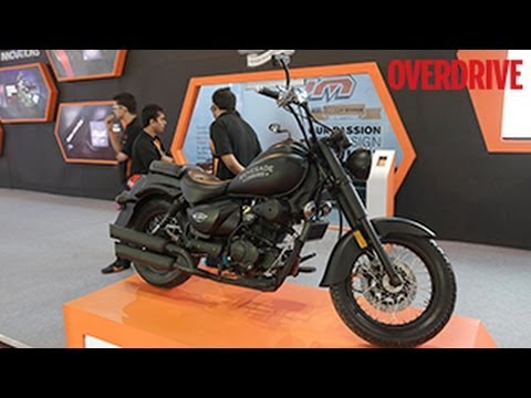 UM Renegade Commando And X-Street R - First Look From 2014 Auto Expo