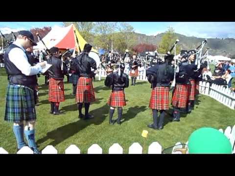 The Invercargill Licensing Trust, City of Invercargill Highland Pipe Band - Grade 4B - 2012