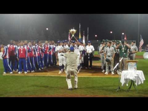 World Junior Baseball Championships Medal Ceremony