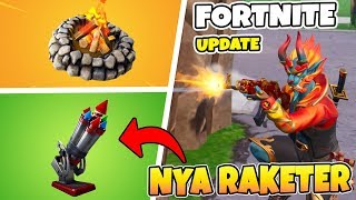 NOUVELLES ROCKETS EN FORTNITE - HEALA YOU AROUND THE FIRE - NEW FIREWALKER SKIN