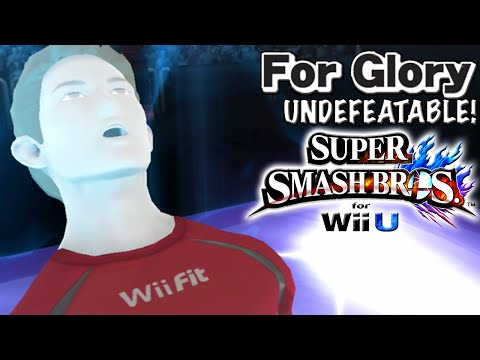 The Hypest Episode | Undefeatable! ~ Wii Fit Trainer Ep. 9- Super Smash Bros Wii U (For Glory)