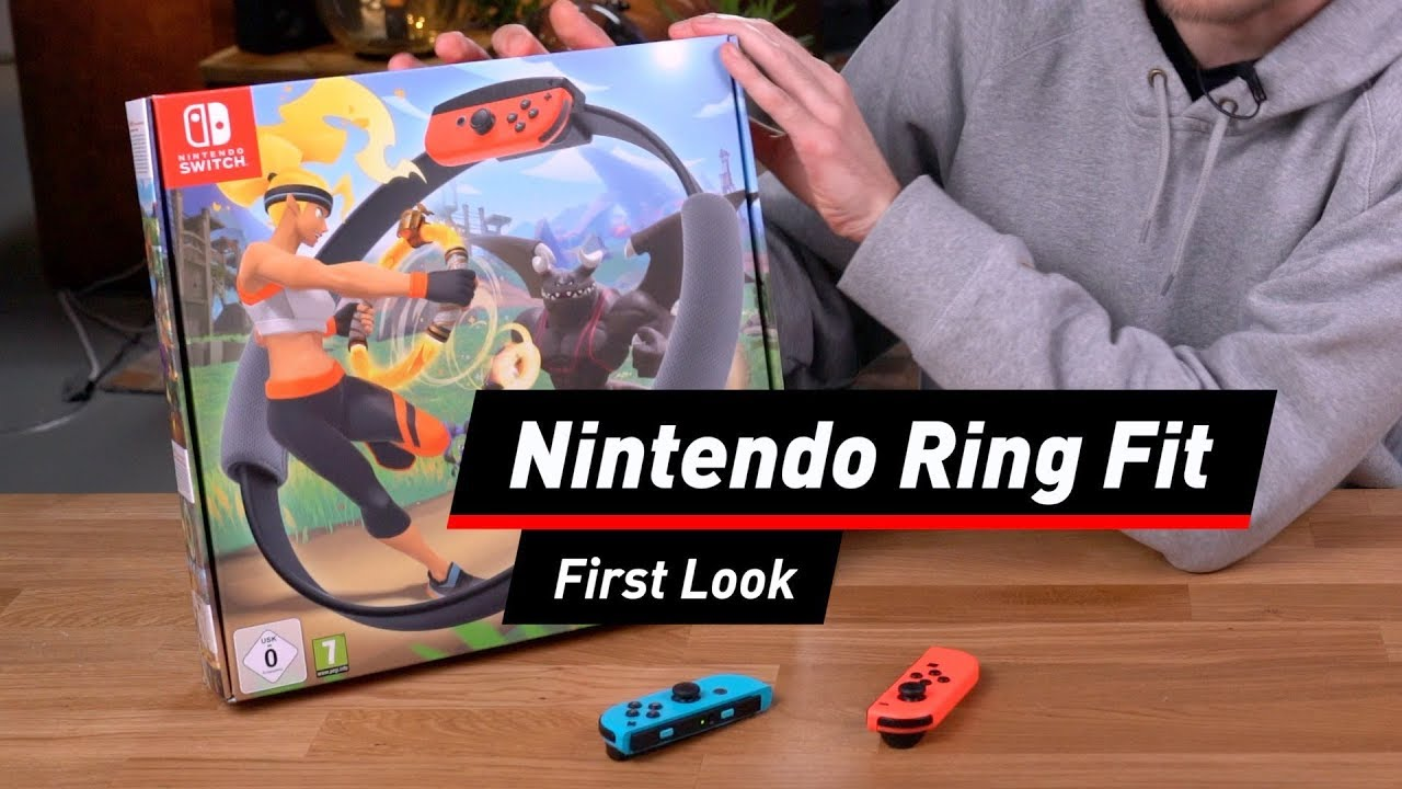 Ring Fit Adventure Test