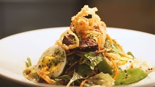 Thai Beef Salad - Houston Avenue Bar & Grill