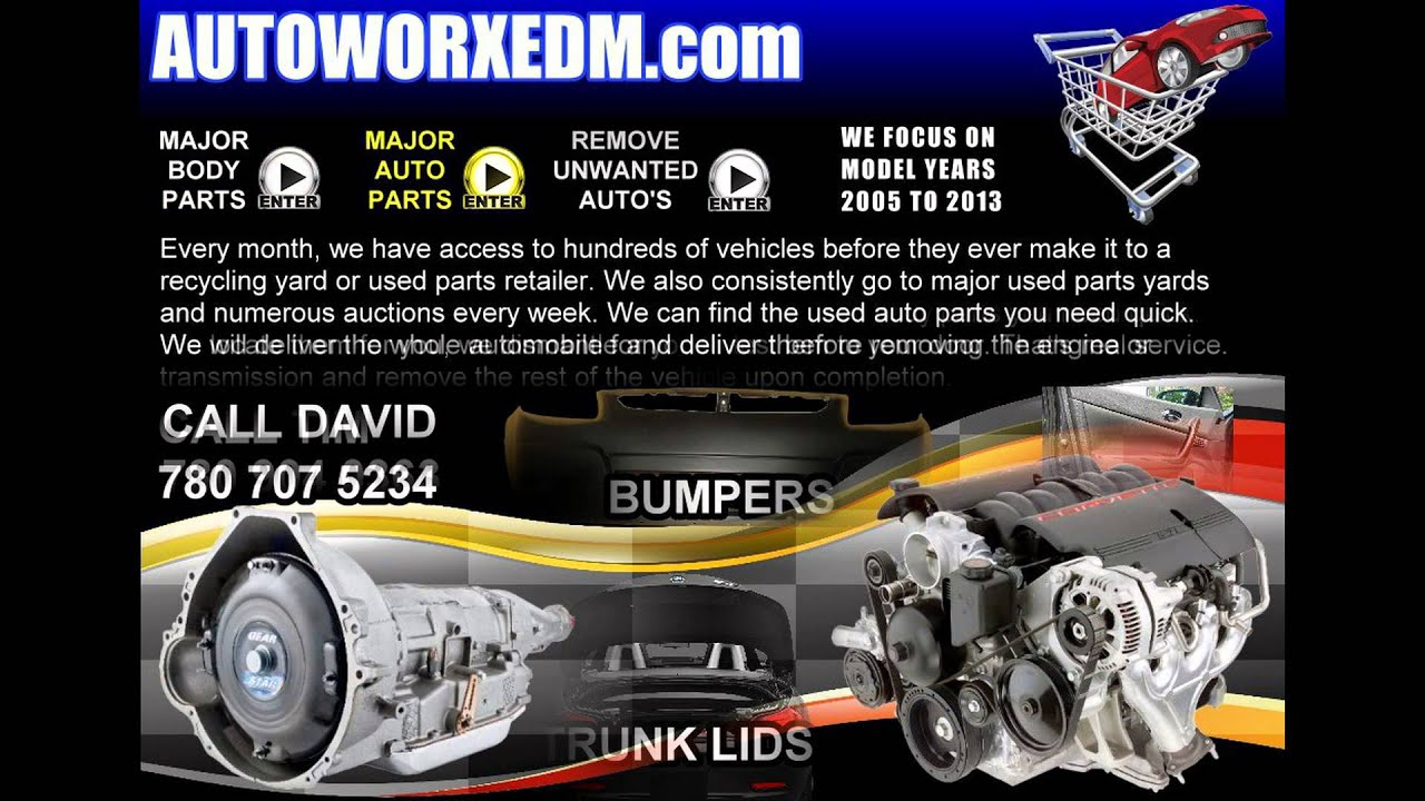 Auto Works Edmonton - Used Auto Parts And Vehicle Removal ...