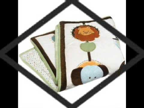 NoJo Jungle Tales 6 Piece Crib Set