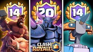 """¡¡ LOS 3 MEJORES MAZOS PARA """"GANAR EL DESAFIO DE LAS 20 VICTORIAS"""" !! - Clash Royale [XHEO]"""