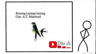 Lirik Lagu Anak - Burung Layang layang - Cipt. A.T. Mahmud