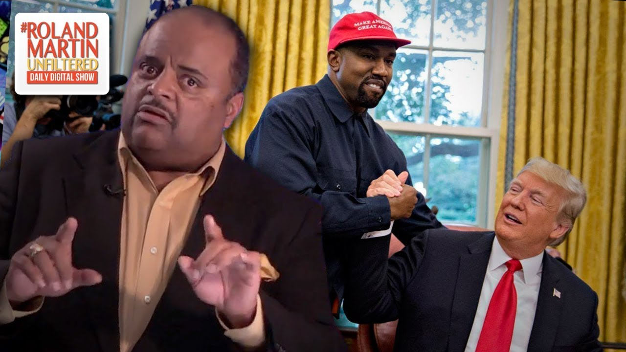 Roland Martin harsh lecture to Kanye West