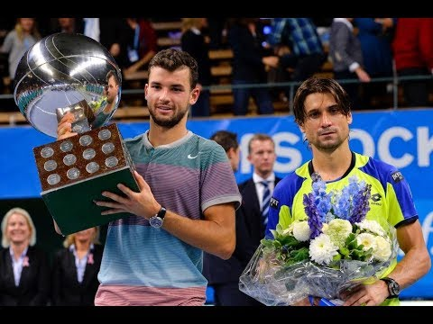 Grigor Dimitrov def. David Ferrer, If Stockholm Open (F) 20.10.2013. - Match Point & Presentation