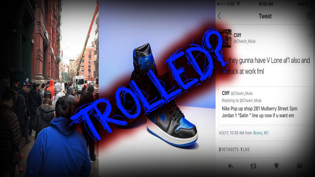 Biggest Troll In The Sneaker Game? | Air Jordan Retro 1