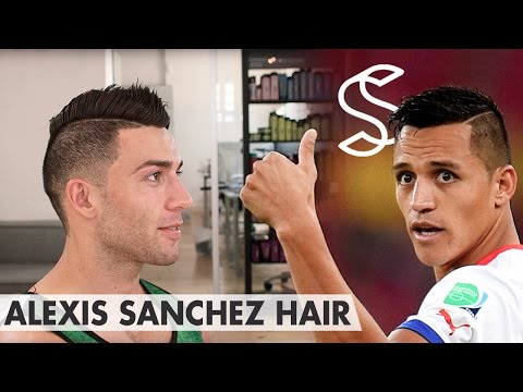 Alexis Sánchez Hair ★ Professional hairstyling tips for men