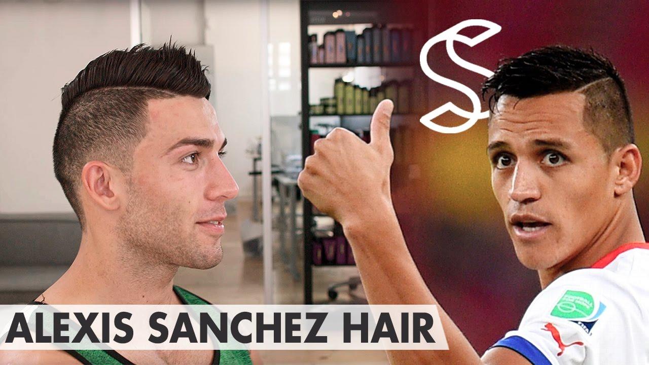 Alexis Sanchez Hair