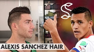 Alexis Sánchez Hair - Professional hairstyling tips for men