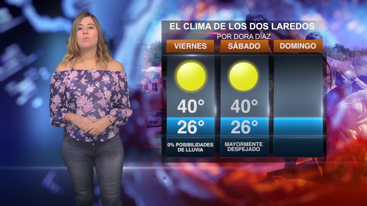 clima nuevo laredo viernes 21 de julio youtube