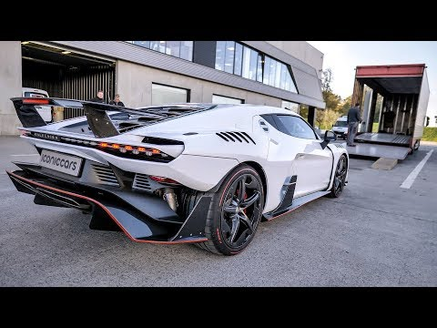 World first $3m Italdesign Zerouno delivery + brutal test drive