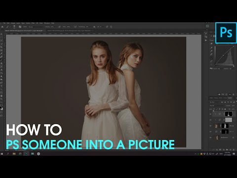 How To Photoshop Someone Into A Picture