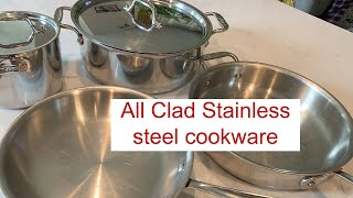 All-Clad Stainless-7pc  Cookware Set / The benefits of Steel cookware