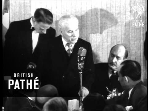 "Selected Originals - ""Charlie Speaks"" Aka Charles Chaplin At Variety Club (1952)"