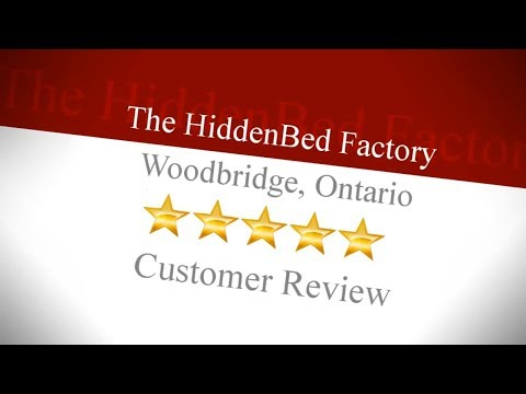 Hiddenbed Factory Excellent Toronto Review