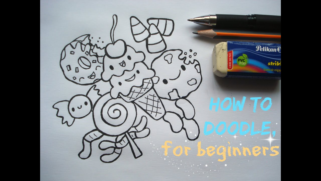 first steps on doodling for beginners youtube