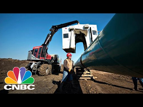 Keystone XL Pipeline: 50% Of Pipes Sitting Idle | Power Lunch | CNBC