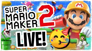 🔴 again... MAAKS. #16 👷‍♂️ SUPER MARIO MAKER 2 live (deutsch) | Miekahr