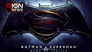 Why This Major Character Isn't in Batman v Superman: Dawn of Justice - IGN News