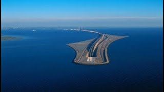 """طريق الاعجوبة في الدنمارك """" أول جسر خفي في العالم """" .!"""