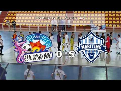 Sintesi:Odissea 2000-Maritime Augusta (Campionato Calcio A5 Serie A2 2017/2018)
