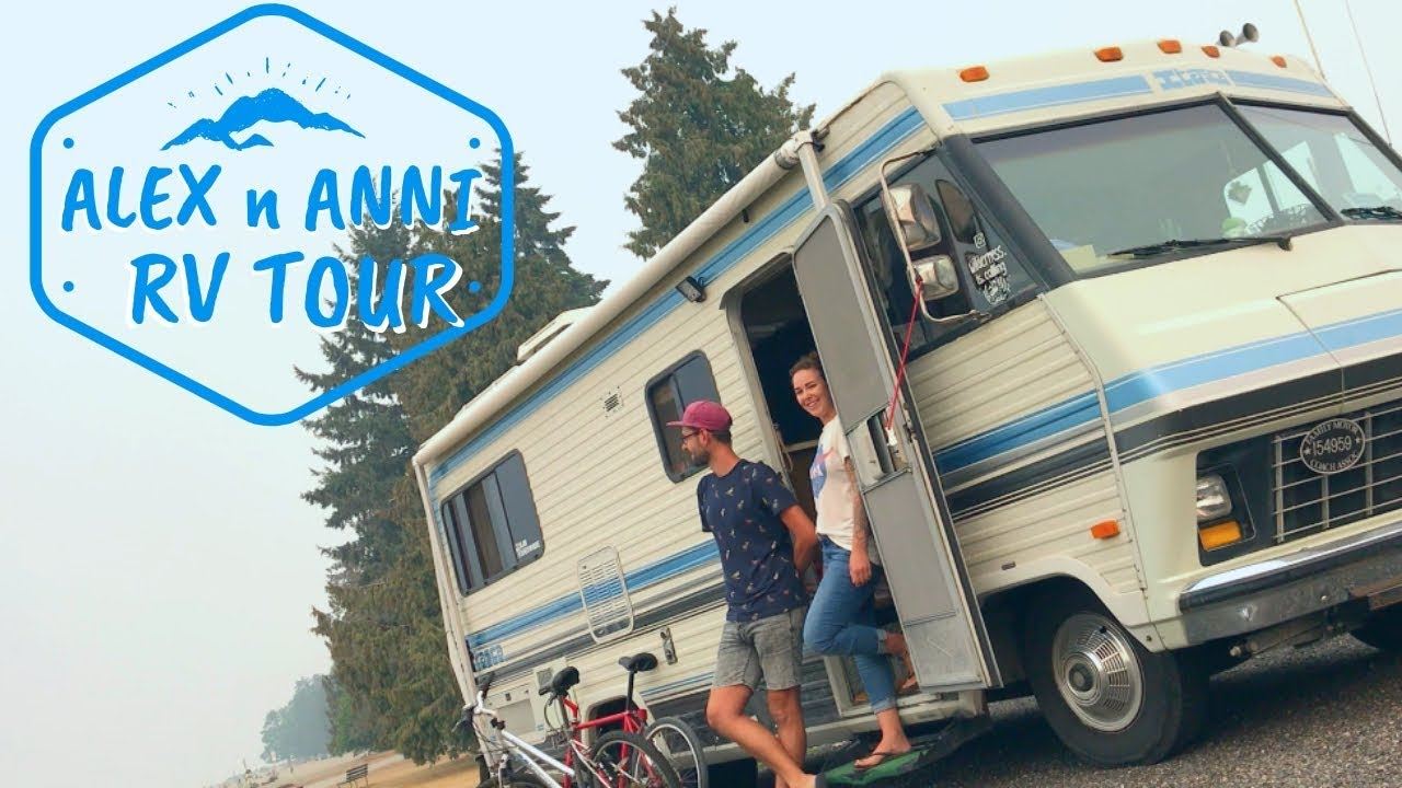 64f860e0049ba4 RV TOUR - Couple Is Loving The RV Life In This Cool Vintage RV - YouTube
