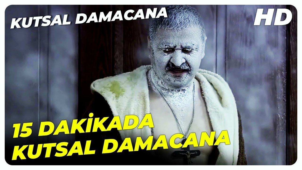 15 Dakikada  Kutsal Damacana | Şafak Sezer Türk Komedi Filmi