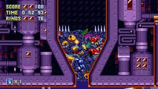 Sonic Mania (PC) - Flying Battery 2 Speedrun in 1
