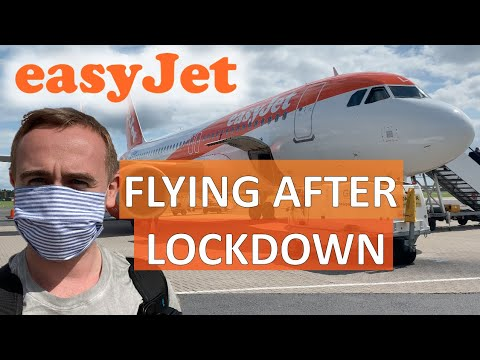FLYING EASYJET AFTER LOCKDOWN :  GATWICK TO BELFAST A320NEO