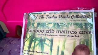Bamboo Baby Crib/Toddler Mattress Protector Cover Review