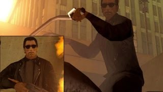 GTA Terminator 2: Judgment Day. Терминатор 2 судный день. Мод GTA San andreas