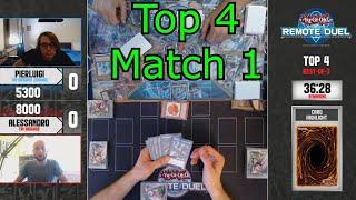 Remote Duel Invitational Top 4 Match 1 Yu-Gi-Oh! 2021
